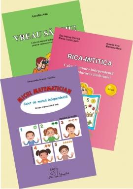 SET: RICA-MITITICA+VREAU SA STIU+MICUL MATEMATICIAN