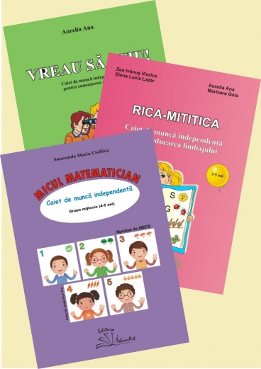 SET: RICA-MITITICA+VREAU SĂ ȘTIU+MICUL MATEMATICIAN