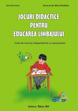 Jocuri didactice pentru educarea limbajului - caietul prescolarului (5-6/7ani)
